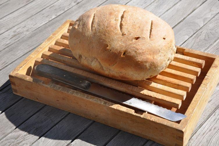 Multigrain Rosemary Pine Nut Bread