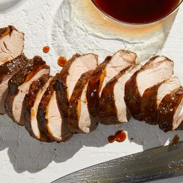 Slow cooker pork tenderloin by Hazel