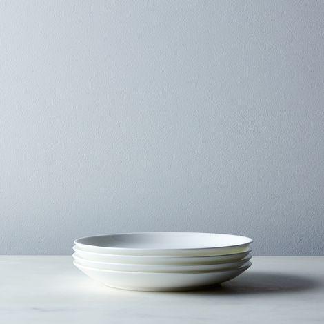 Purio White Salad Plates (Set of 4)