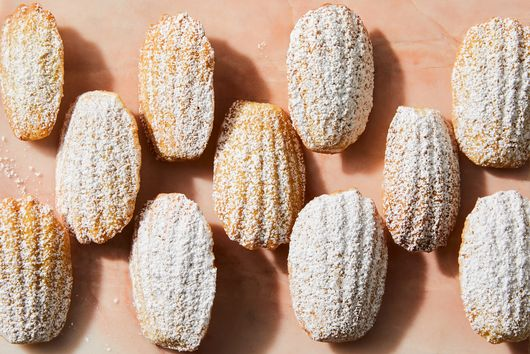 Orange & Brown Butter Madeleines