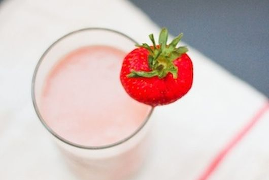 Strawberry Peanut Butter Protein Smoothie
