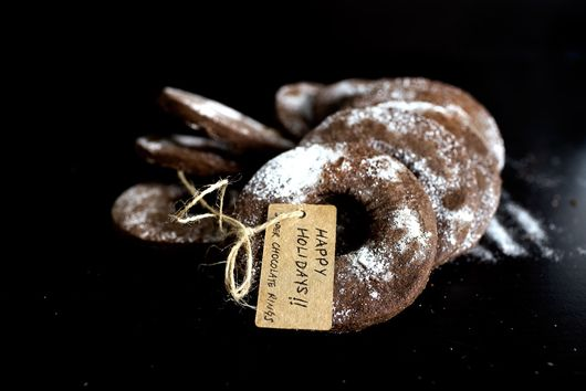 Super Chocolatey Shortbread Rings
