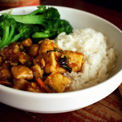 Spicy Ginger-Orange Tofu