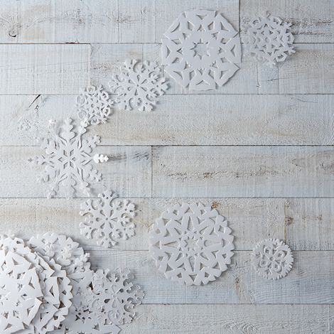 Snowflake Hanging Garlands (Set of 5)