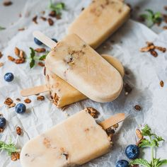 Peach Smoothie Popsicles