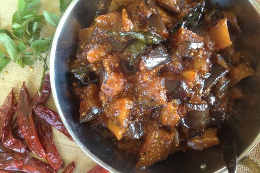 Eggplant with Tamarind