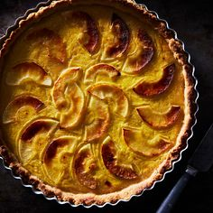 Apple Curd Stars in This Orchard-Inspired Tart