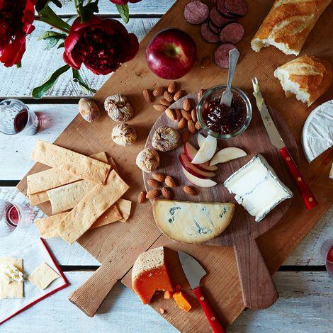 Berti Red-Handled Italian Cheese Knives (Set of 3)