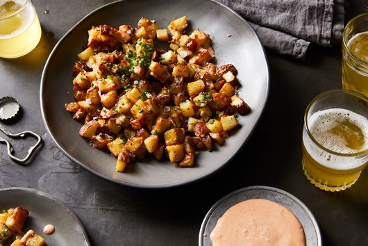 Molly Yeh's Roasted Potatoes with Paprika Mayo