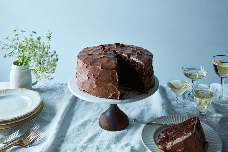 Anita Shepherd's Vegan Chocolate Birthday Cake With Super-Fluffy Frosting