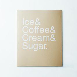 Iced Coffee Print