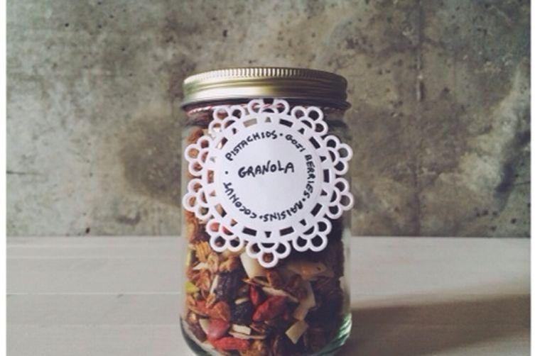 Pistachio-Goji Berry Granola