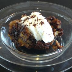 Coffee-Nochella Bread Pudding