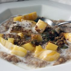 Mango and Ginger Coconut Oats