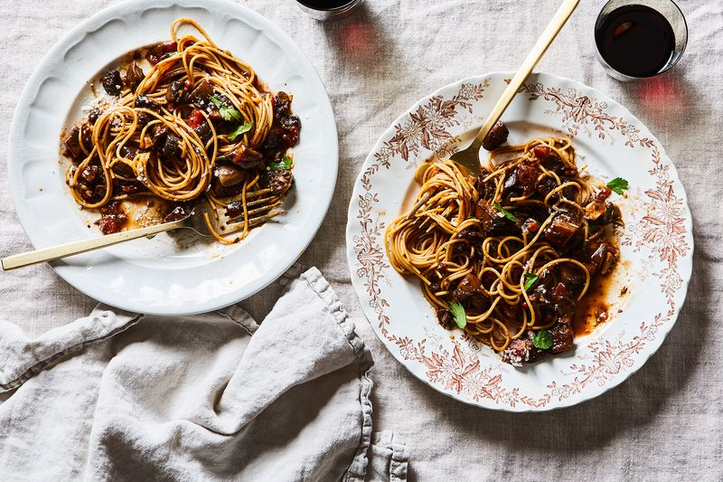 Comforting Bolognese—without the meat.