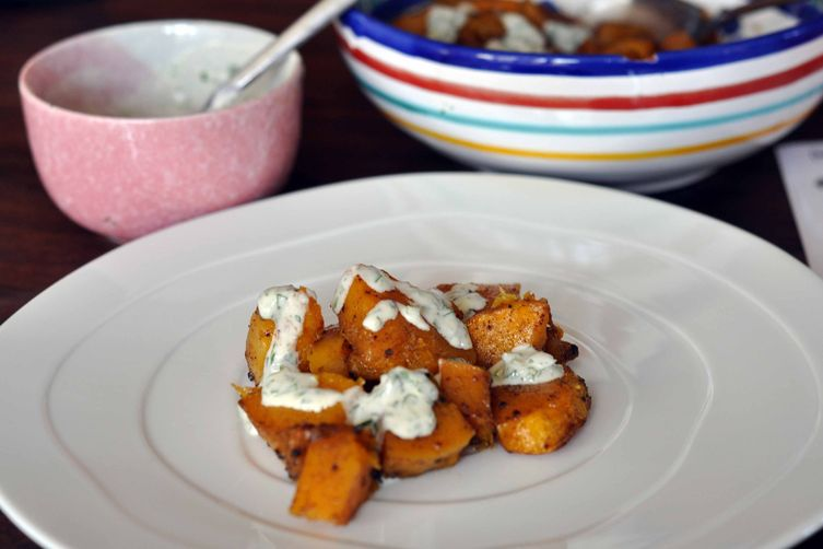 Cardamom-Roasted Butternut Squash