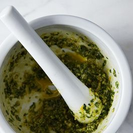 Alice Waters' Parsley and Anchovy Sauce