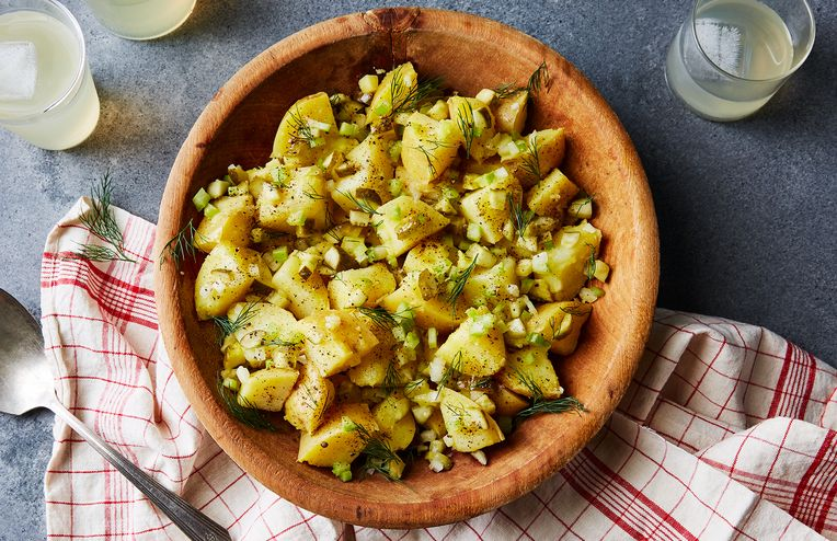 The Best Dang German-Style Potato Salad for All the Pickle Lovers Out There
