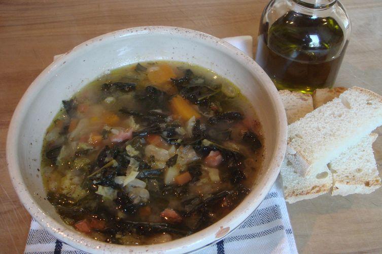 Zuppa Frantoiana - Olive Harvest Day Soup