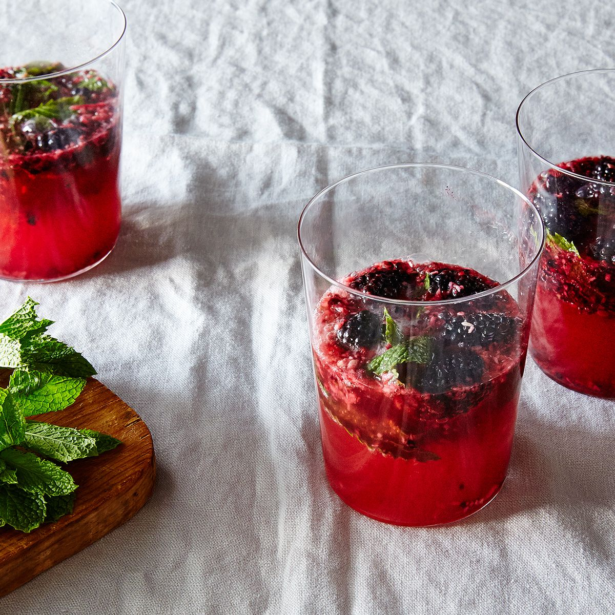 Blackberry Ginger Ale Mojito Recipe On Food52
