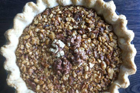 Mr. Hisataki's Walnuts Pie (Maple-Walnut Pie)