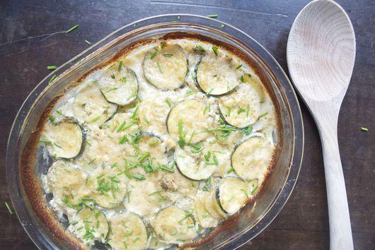 Potato & Zucchini Gratin