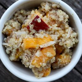 Nutty Tropical Breakfast Quinoa