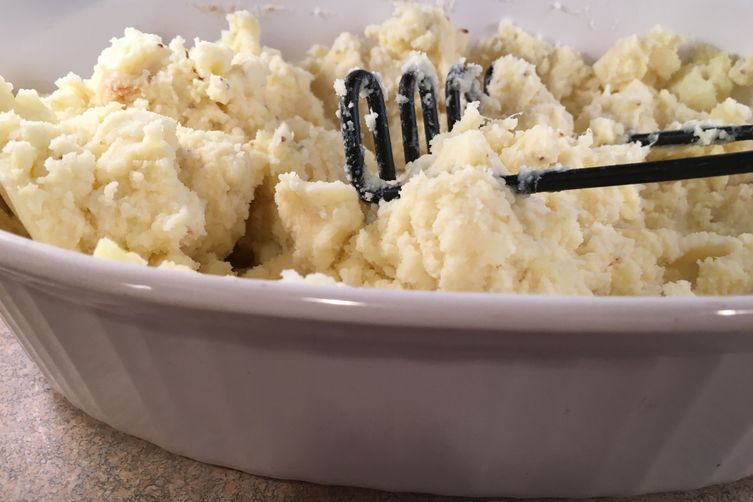 Garlic-Mashed Potatoes