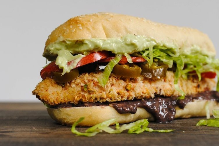 Pistachio-Crusted Chicken Tortas Recipe on Food52
