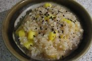 Sweet Rice with Mango, Chia and Black Sesame