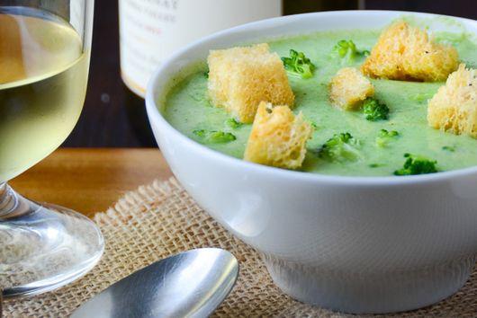 Truffled Cream of Broccoli Soup