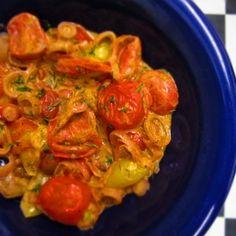 Ouzo Tomatoes