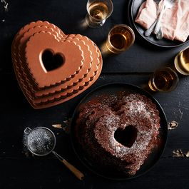Nordic Ware Tiered Heart Bundt Pan