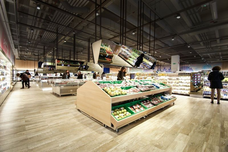 How technology driven will our food shopping be? Here's the prototype for The Supermarket of the Future