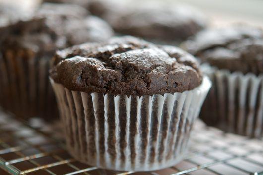 Chocolate Persimmon Muffins