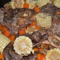 Braised Beef Shanks (or beef cheeks)