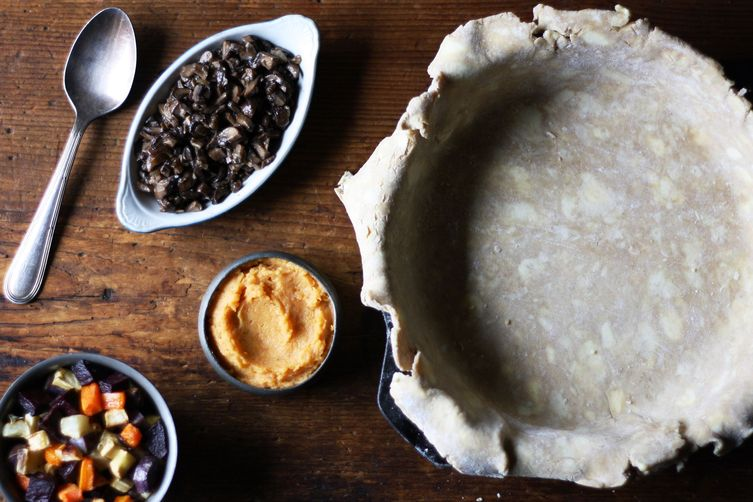 Thanksgiving Root Vegetable Pie