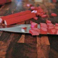 Strawberry Rhubarb Cobbler-ish