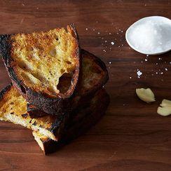 Dinner Tonight: Drunken Clams + Grilled Garlic Toast