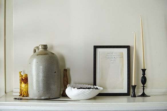 Mantel -- a few of my favorite things