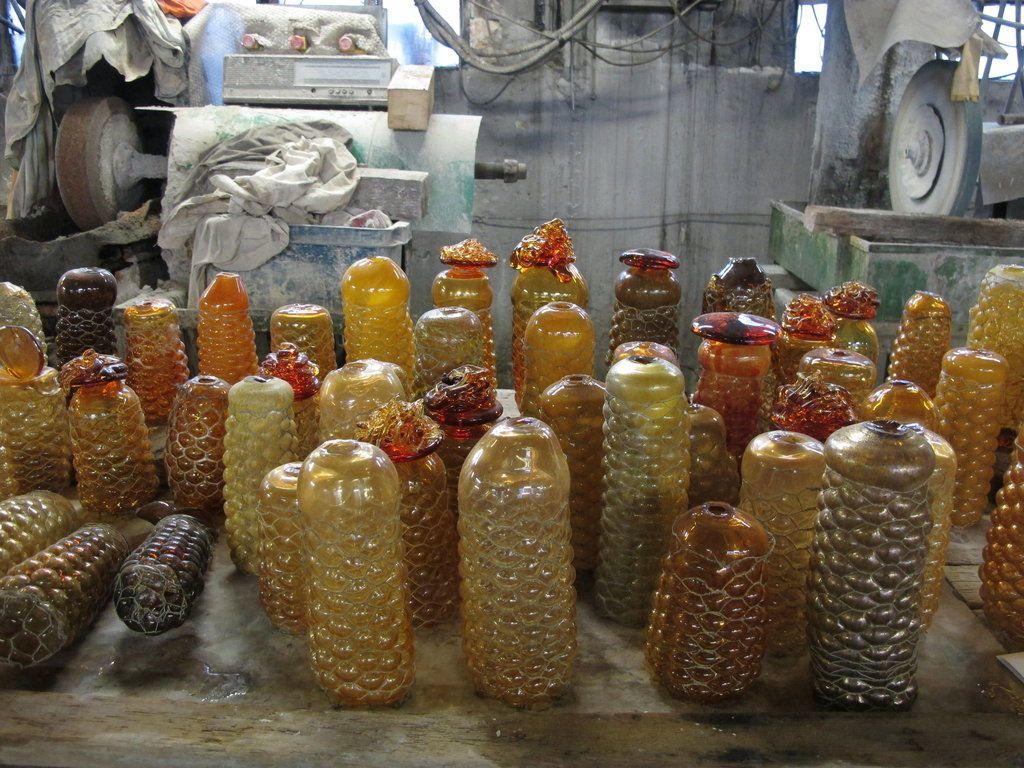 Judi Harvest Glass Bottles