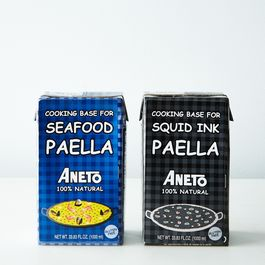 ANETO Seafood & Squid Ink Paella Base Duo