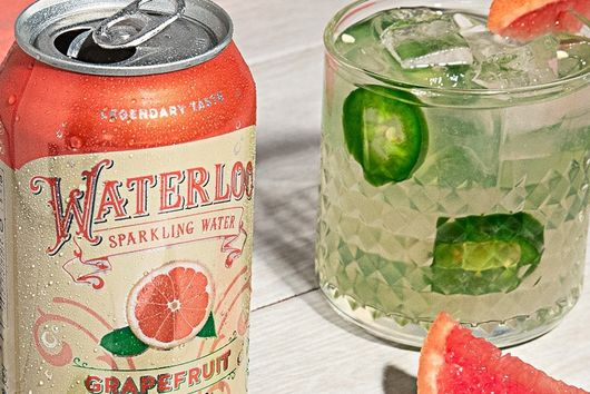 Waterloo Paloma Mocktail
