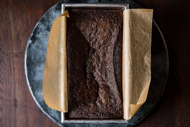Dense Chocolate Loaf Cake