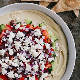 Six Layer Mediterranean Dip