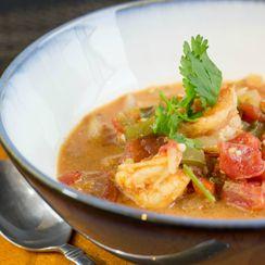 Moqueca de Camaroes, Brazilian shrimp stew