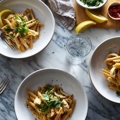 One-Pot Spicy and Creamy Chicken Pasta