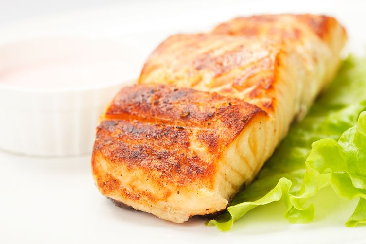 Citrus Broiled Salmon