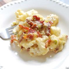 Hatfield Bacon and Cauliflower Casserole