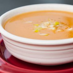 Butternut Squash, Apple, and Ginger Soup